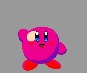 A nice lil happy Kirby.