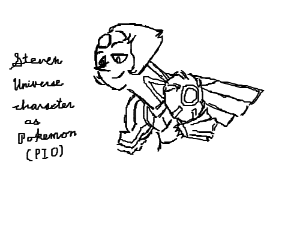 Steven Universe Characters as Pokemon (PIO!)