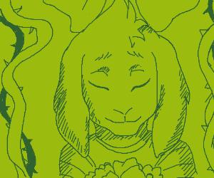 Asriel froom Undertale