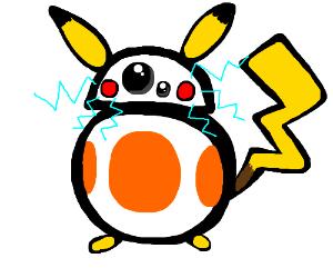 BB-8 becomes a pokemon