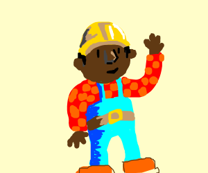 Black Bob the Builder