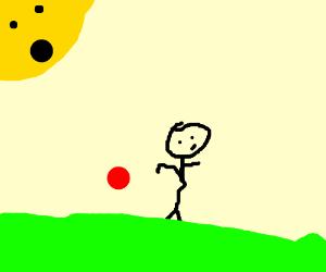 Sun ball play
