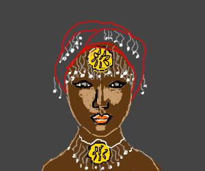 Nigerian queen