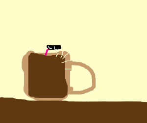 Put a worm in your coffee
