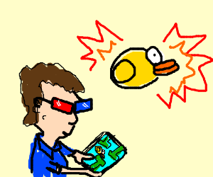 3D flappybird