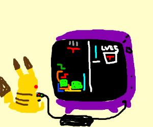 pikachu tetris