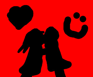 romantic silloheute