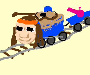 Thomas has become a Hippie train.