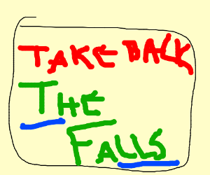 Take back the falls is well worth watching