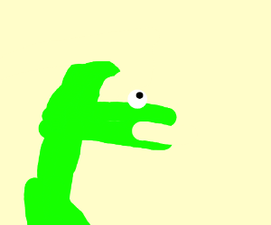 angry dino hand dude thingy is confuzzld