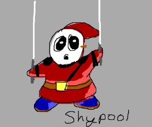 Shyguy as Deadpool (Shypool)