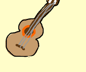 The Saddest Violin - Drawception
