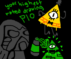 Your highest rated drawing! P.I.O.