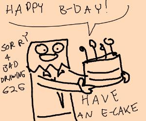 It's my birthday! Free draw first, panel 2 :)