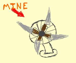 this is my knife fan