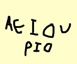 aeiou PIO