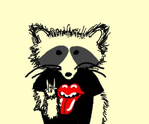 Rocker Raccoon