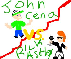 John Cena vs. Rick Astley