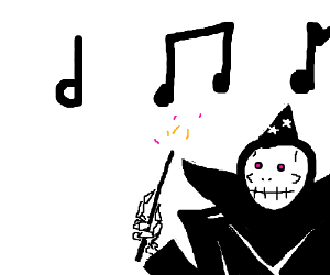 A musical necromancer