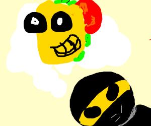 ninja dreamin bout dem tacos