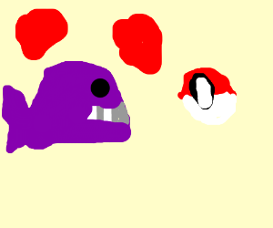Purple whale loves Poland