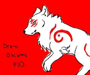 Draw Okami PIO