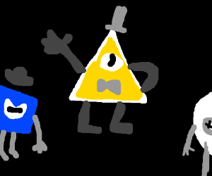 Geometry class starring Bill Cipher