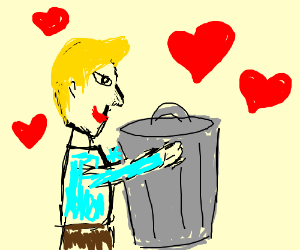 Jazza takes out the trash with love