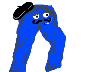 Anthropomorphic French jeans