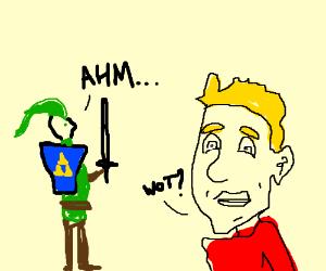 Link from Zelda wants to speak to Jazza