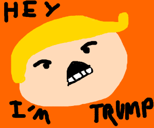 Donald Trump as a Game Grump