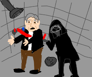 Han Solo dies (in the shower!)