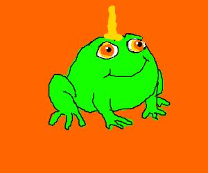 Majestic uni-toad