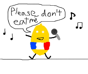 french lemon sings to avoid being eaten