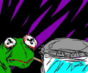 Kermit the Frogs dank meme stash