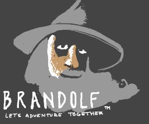 Brandalf the corporate-sponsored wizard