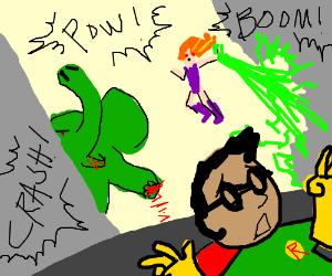 Starfire and Beast Boy Finally Lose It