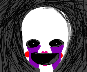 The puppet from five nights at freddys