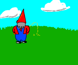I'm a gnome and I water the ground