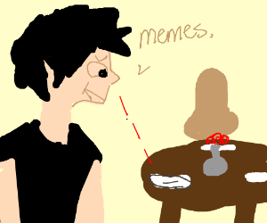 JonTron consumes memes for dinner - Drawception