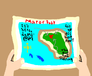 ancient map to ruby