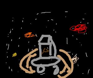 Golf cart space vortex