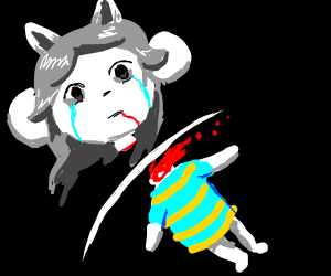 Temmie (Undertale) was slaughtered
