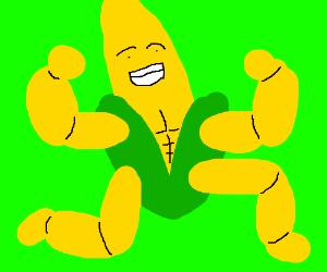 Buff corn