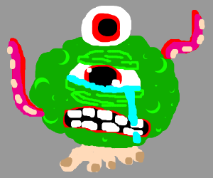 Crying creature