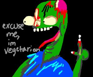 zombies go vegan