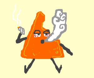 even half-eaten Doritos need their cannabis