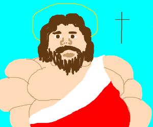 fluffy jesus christ