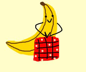 Banana squash likes quilting