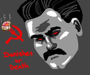 Russian dictator demands danishes